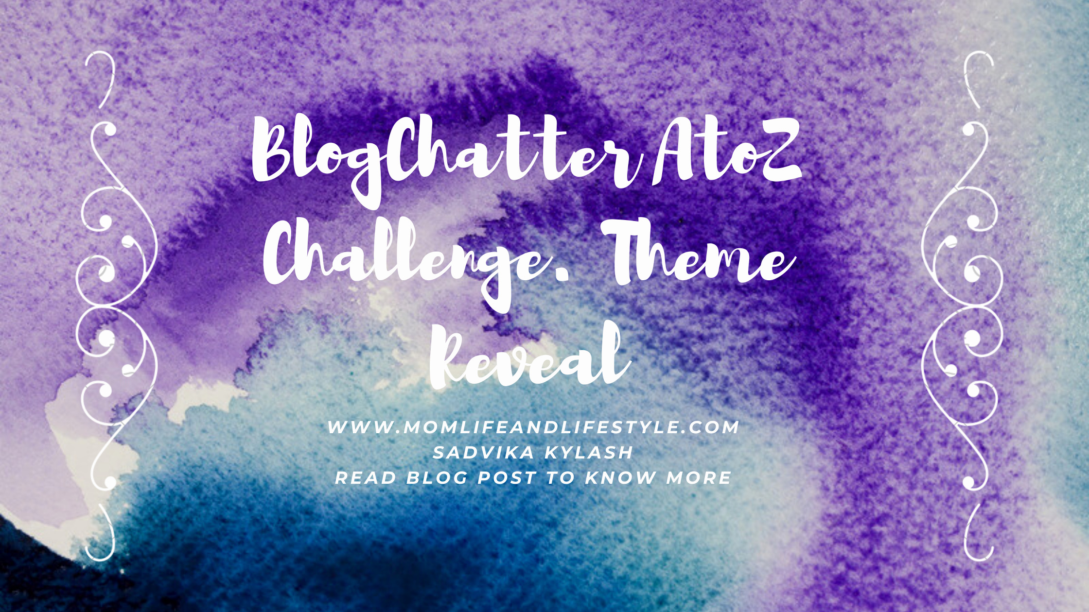 BlogChatter AtoZ Challenge,2021. Theme Reveal