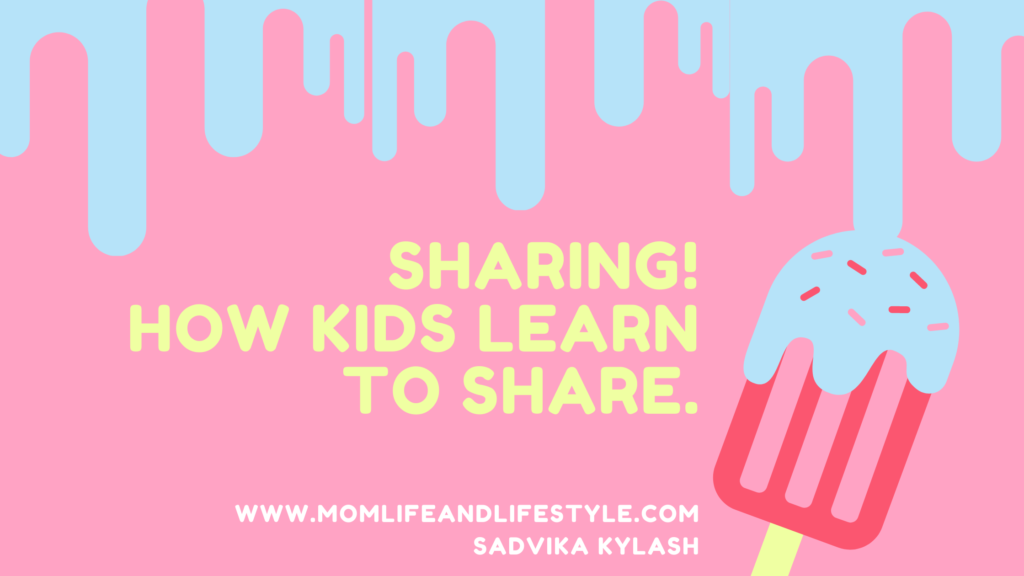 Sharing! How kids learn to Share.