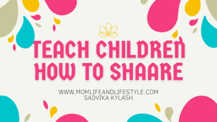 Tips that would make kids learnt to share.""