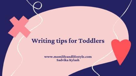 Writing tips for toddlers